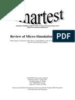 Review of Micro-Simulation Models - Leeds University 1998