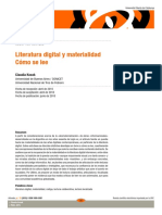 Kozak - Literatura digital y materialidad