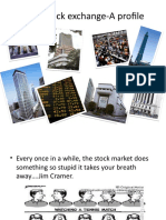 Stock Exchanges- A Profile