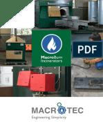 Macrotec Incinerators