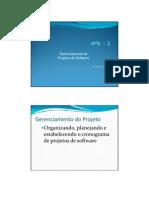 Gerenciamento Projeto Software