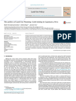 Preciado Jeronimo Et Al. - 2015 - The Politics of Land Use Planning Gold Mining in