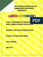 A .Cuestionario de Libros Historicos 1 Rey-ester1