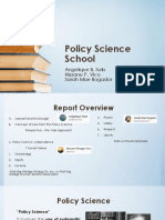 Policy Science School