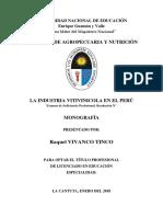 Monografia de Sustentacion de Vinoss