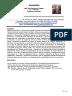 CV Jose Luis Colmenarez -Ing Electricista