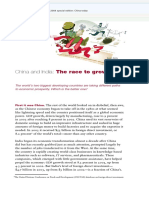 China and India the Race to Growth