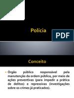 Polícia - Slides