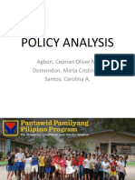 4ps Policy Analysis
