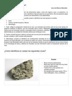 Rocas Igneas