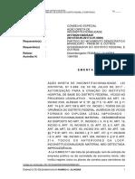 Ação declaratória de constitucionalidade Instituto Hospital de Base