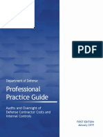 Panel 809's DoD Professional Practice Guide - January 2019