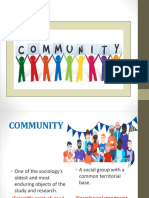 1. Community
