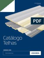 Catalogo Telhas 2018 1out2018