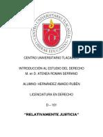 Relativamente Justicia.docx