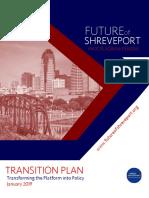 Future of Shreveport Transition Plan
