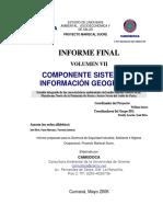 Estudio de Linea Base Ambiental Socioecon Mica y de Salud Proyecto Mariscal Sucre Componente Sistema de Informaci n Geogr Fica-V1