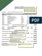 Ejemplo Sistema de Costos Especifico