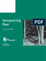 Psychology, Help) Conquering Fear