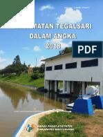 Kecamatan Tegalsari Dalam Angka 2018