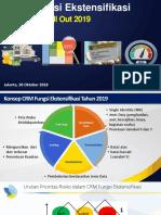 Persiapan Roll Out CRM Ekstensifikasi 2019