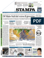 La Stampa 21 Aprile 2018