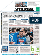 La Stampa 23 Aprile 2018