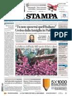 La Stampa 22 Aprile 2018