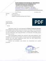 0. Surat Pemanggilan Peserta Pelatihan Pendamping Akreditasi Klinik Pratama