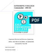 Em II Lab Manual for v Eee R2013