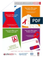 Global HIV Prevention Campaign - A Guide for Posts Worldwide - PR Campaign Guidelines