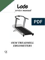 Service manual OEM treadmill ergometers V2.03