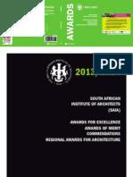 Awards Booklet 2014