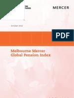 2010 10 Melbourne Mercer - Global_Pension_Index_2010