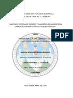 Tesis Auditoria de Estados Financieros