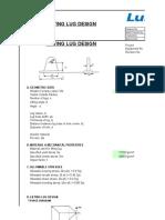 Lifting Lug Design(3064)