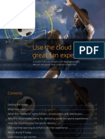 AWS Elemental eBook Live Sports Cloud