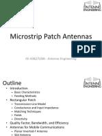 Topic 5 -- Microstrip Patch Antenna