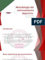 Metodología Del Entrenamiento Deportivo Final