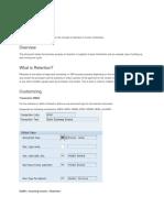 Vendor Invoice - Retention