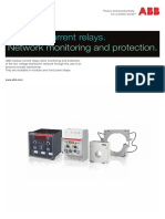 Residual Current Relays - Poster