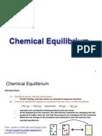 Chemical Equlirium