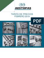 201901 Gaestopas Tarifa General Febrero 2019 Ta-94