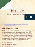 TULIP Doctrines of Grace