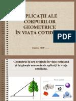 Aplicații Ale Corpurilor Geometrice În Viața Cotidiană - Copy