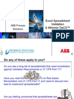 ABB Excel Solution Overview