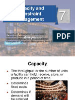 operations management - Capacity