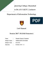 3 Faculty Lab Manual OS LAB