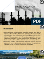 Control of Industrial Pollution
