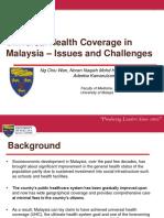 Universal Health Coverage in Malaysia